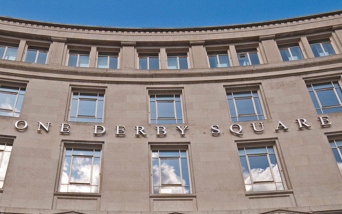 One Derby Square Slide