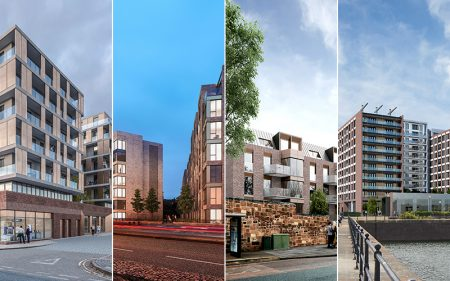 4 new residential buildings by FCH