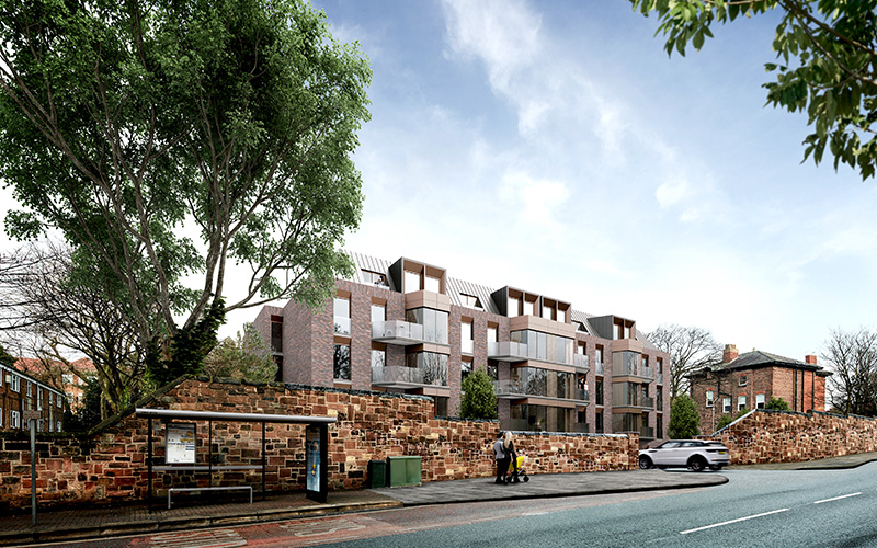 Aigburth road development by Falconer Chester Hall