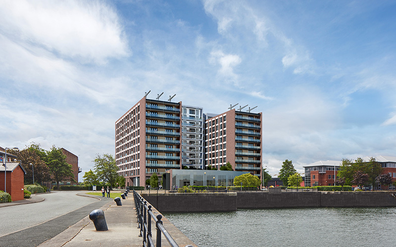 Brunswick quay by Falconer Chester Hall