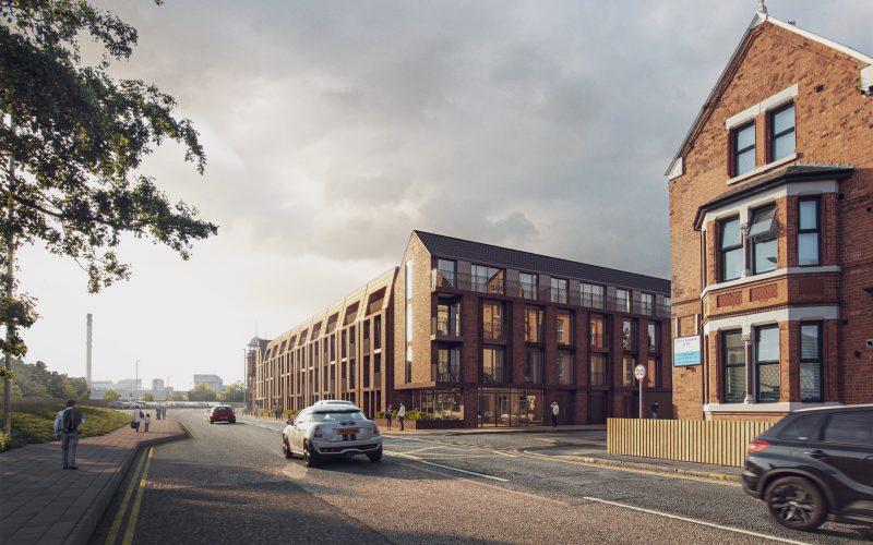 Planning application for Wilson Patten Street