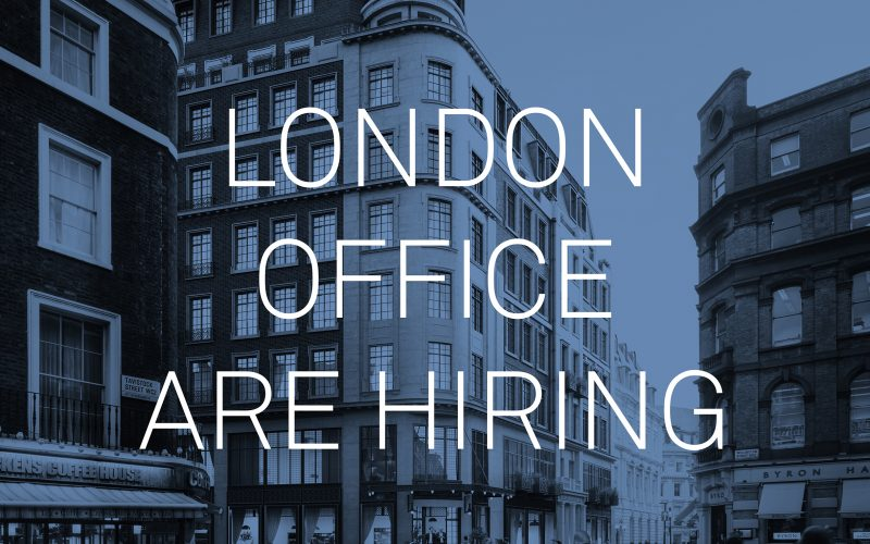 London office are hiring