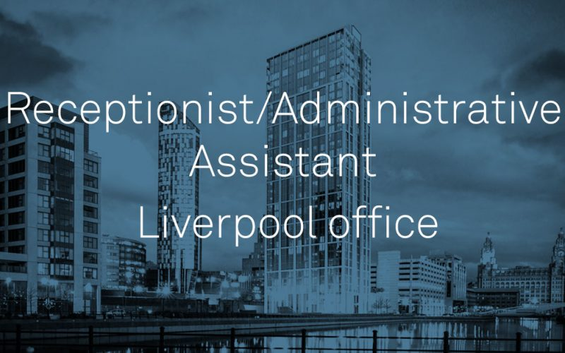 Receptionist/administrative assistant