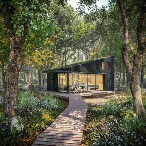 Hulton Park cabin